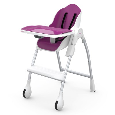 Oribel Cocoon High Chair - Chaise Haute Prune