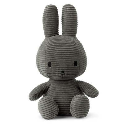 Bon Ton NIJNTJE - Miffy Anthracite Rabbit Plush 33 cm