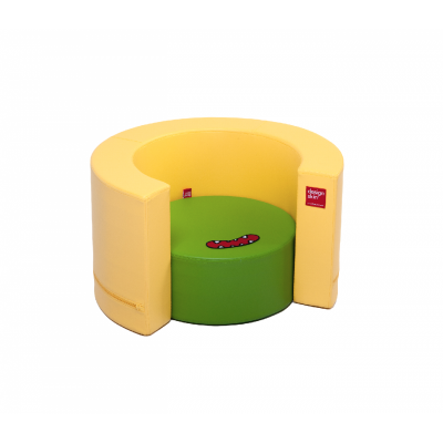 Designskin TUNNEL Seat yellow and green