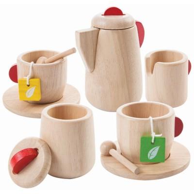 Plan Toys Wooden Tea Set