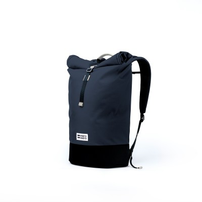 Mero Mero - Squamish Roll-Top Backpack V2 - Navy Blue