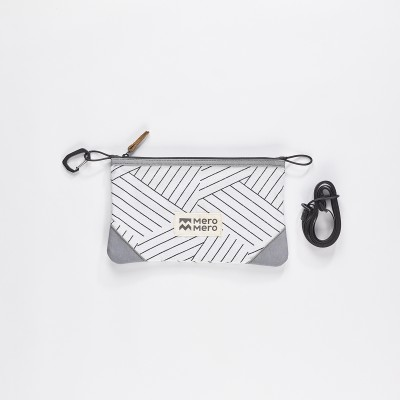 Mero Mero - Multifunction Stuff Pouch - Stone Grey