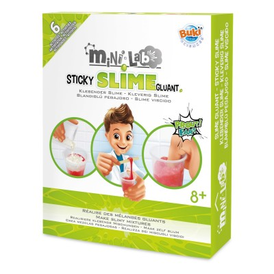 Buki - Sticky slime mini lab set