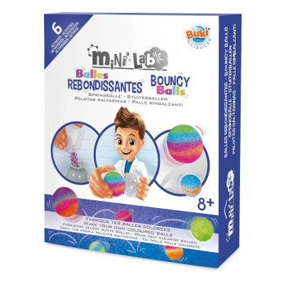 Buki - Box mini lab bouncing balls