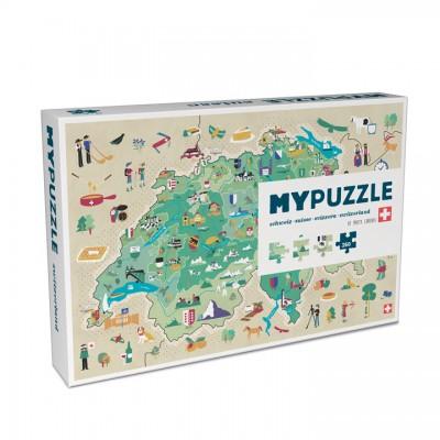 Helvetiq MyPuzzle Suisse