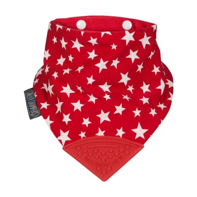 Cheeky Chompers - Red Stars Neckerchew