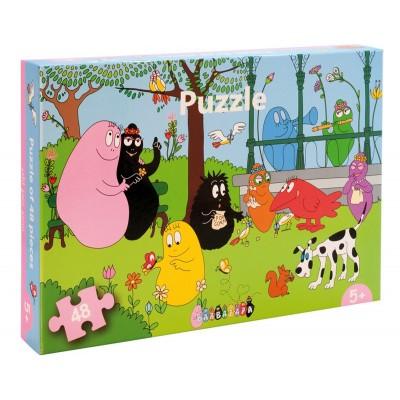 Petit Jour Paris - Puzzle Barbapapa 48pcs