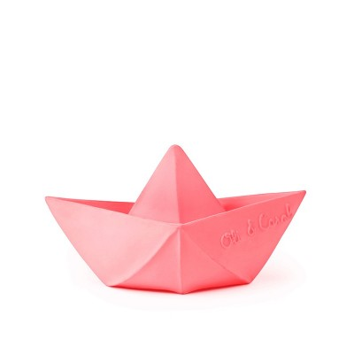 Oli & Carol Origami Boat pink