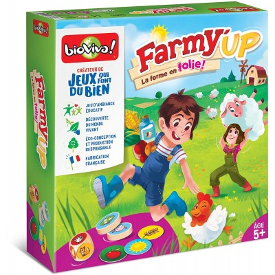 Bioviva Farmy'Up The Crazy Farm Game