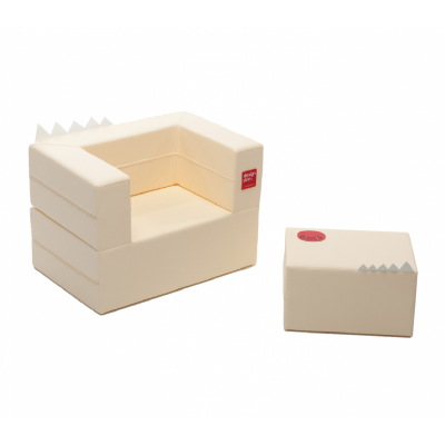 Designskin CAKE light yellow seat