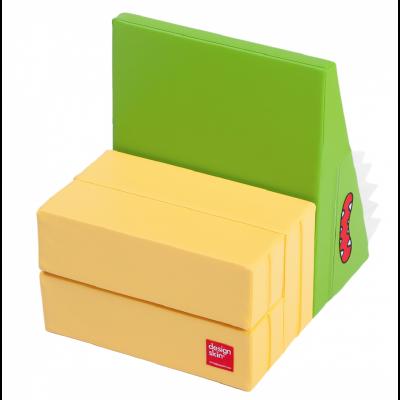 Designskin SLIDE Seat green and yellow