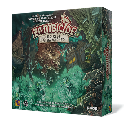 Edge Zombicide No Rest For the Wicked (French version)