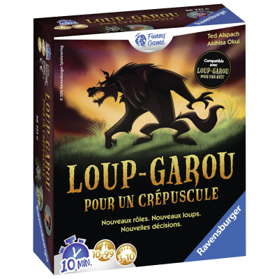 Ravensburger Werewolf for a dusk (French Version)