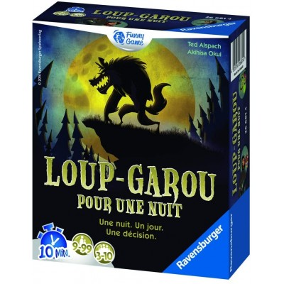 Ravensburger Werewolf for a night (French Version)