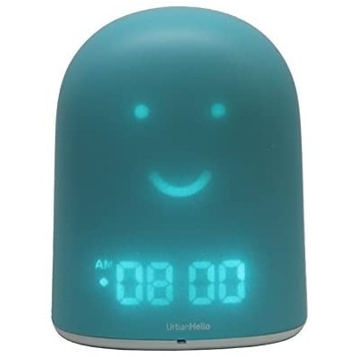 UrbanHello REMI Baby monitor and smart alarm clock, Blue