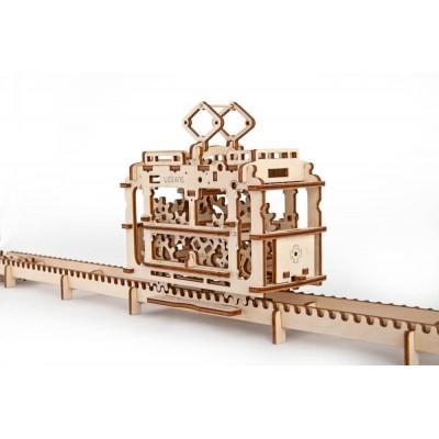 Ugears Tram on Rails