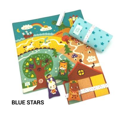 Tiny Magic Fairy Land - Blue Stars