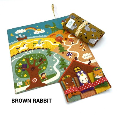 Tiny Magic Fairy Land - Brown Rabbit