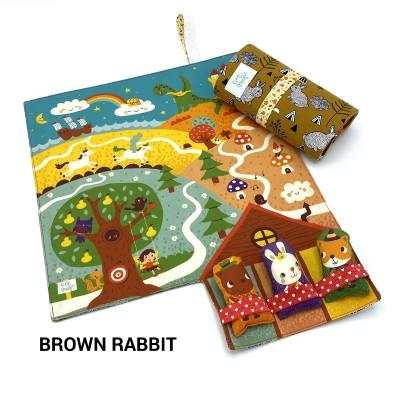 Tiny Magic Fairy Land - Brown Rabbit