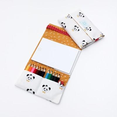 Tiny Magic Pochette à dessin - White Panda