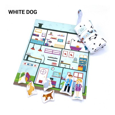 Tiny Magic Hôpital Vétérinaire - White Dogs