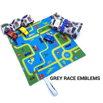Tiny Magic CarPet Colors, race emblems