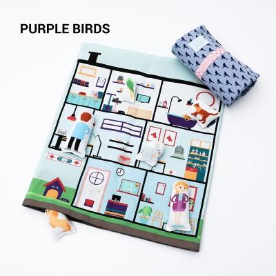 Tiny Magic Veterinary Hospital - Purple Birds