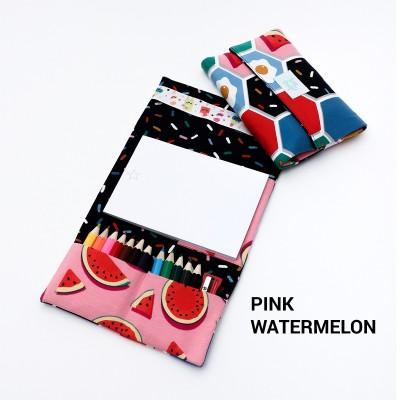 Tiny Magic pochette à dessin - Pink Waterlemon