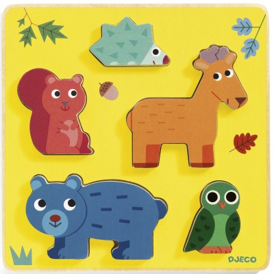 Djeco - Puzzle Frimours