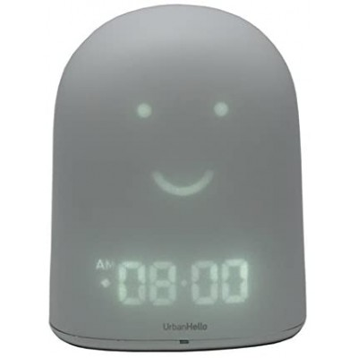UrbanHello REMI Baby monitor and smart alarm clock, Grey