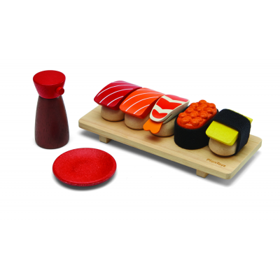 Plan toys - Wooden Sushi Set