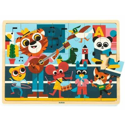 Djeco - Puzzlo Music