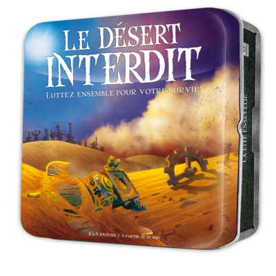 Cocktail Games - Le désert interdit (French version)