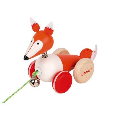 Janod - Fox walking Zigolos (wood)