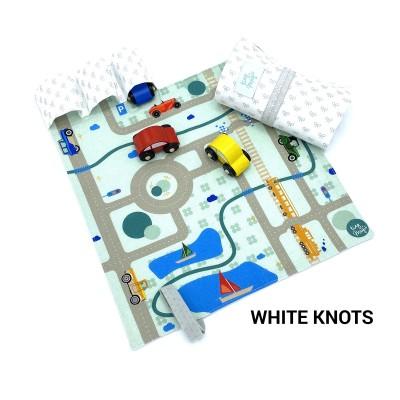 Tiny Magic CarPet Colors - White Knots