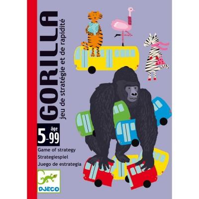 Djeco - Gorilla Jeu de stratégie et de rapidité