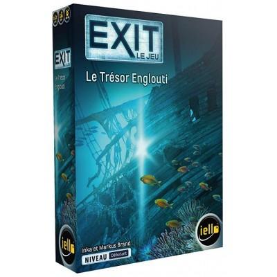 Iello - EXIT le jeu, Le Trésor Englouti