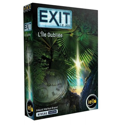 Iello - EXIT le jeu, L'île oubliée