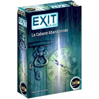 Iello - EXIT le jeu, la cabane abandonnée