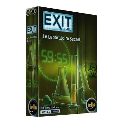 Iello - EXIT le jeu, le laboratoire secret