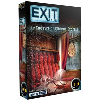 Iello - EXIT le jeu, le cadavre de l'Orient-Express