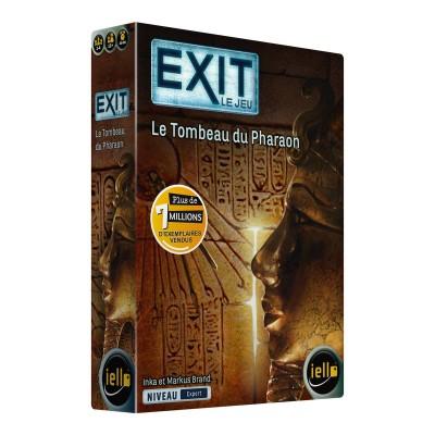 Iello - EXIT le jeu, le tombeau du Pharaon
