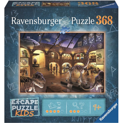Ravensburger - Escape Puzzle Kids Night at the Museum