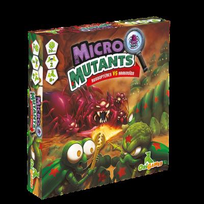 Origames-Micro Mutants Russoptères VS Araknoïdes