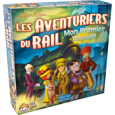 Days of Wonders - Les aventuriers du Rail - Mon premier...