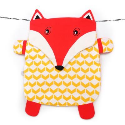 Oribel Peripop Foxey - Sac de rangement 4-en-1 Renard
