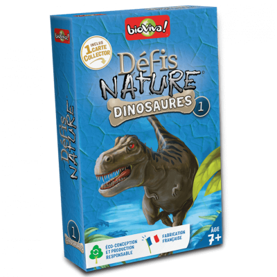 Bioviva - Défis Nature Dinosaures