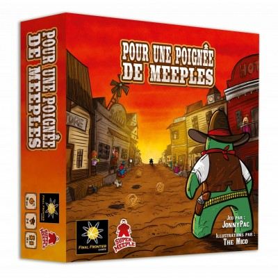 Super Meeple - Pour une poignée de Meeples (French Version)
