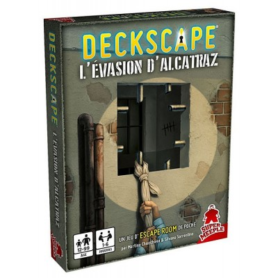 dV Giochi Deckscape - L'Evasion d'Alcatraz (French version)