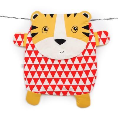 Oribel Peripop Tiggy - Sac de rangement 4-en-1 Tigre